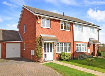Thumbnail 3 bed semi-detached house for sale in North Weald Close, Hornchurch, Essex