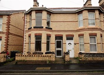 Thumbnail 2 bed semi-detached house for sale in King Street, Newton Abbot, Devon.
