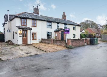 Thumbnail 3 bed semi-detached house for sale in The Green, Shipdham, Thetford