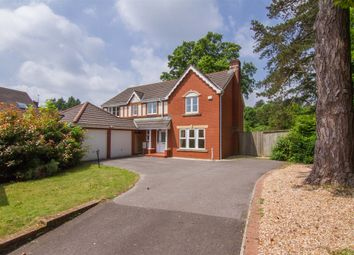 Thumbnail 5 bed detached house for sale in Bassetts Field, Thornhill, Cardiff