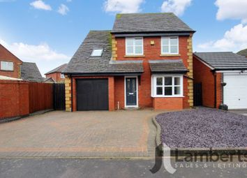Thumbnail 4 bed detached house for sale in Abbeyfields Drive, Studley