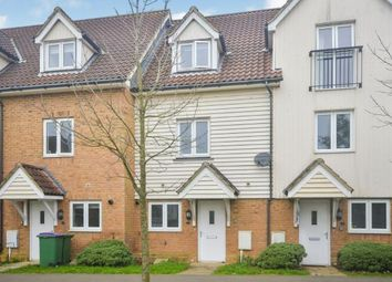 Thumbnail 4 bed terraced house for sale in Page Road, Hawkinge, Folkestone, Kent