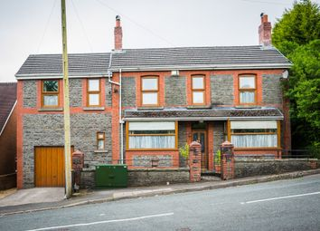 Thumbnail 3 bed detached house for sale in Graigwen Road, Pontypridd