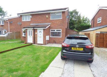 Thumbnail 2 bed semi-detached house for sale in St. Davids Drive, Callands, Warrington