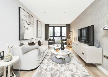 Thumbnail 3 bed flat for sale in Centric Close, Oval Road, London
