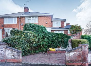 Thumbnail 3 bed semi-detached house for sale in Crowther Road, Birmingham