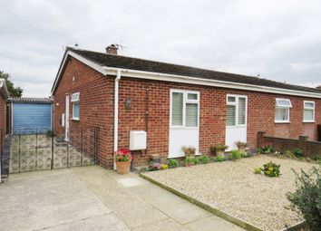 Thumbnail 2 bed semi-detached bungalow for sale in Maple Close, Wymondham