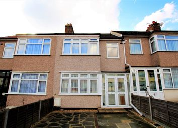Thumbnail 3 bedroom terraced house for sale in Hillfoot Avenue, Collier Row, Romford