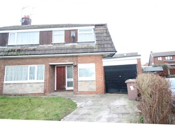 Thumbnail 4 bed semi-detached house for sale in Darvel Avenue, Ashton-In-Makerfield, Wigan