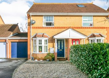 Thumbnail 2 bed semi-detached house for sale in Cowslip Drive, Little Thetford, Ely