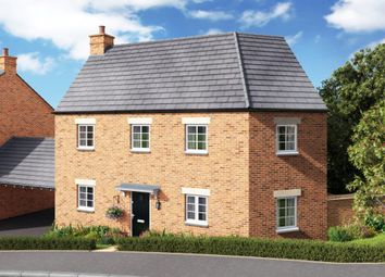 Thumbnail 3 bed detached house for sale in Newport Pagnell Road, Hardingstone, Northampton