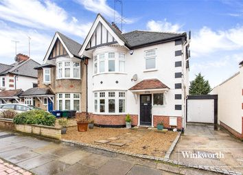 Thumbnail 3 bed semi-detached house for sale in Lyndhurst Gardens, Finchley, London