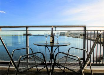 Thumbnail 2 bed flat for sale in Prospect Place, Ferry Court, Cardiff Bay