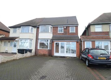Thumbnail 5 bed semi-detached house for sale in Southern Road, Ward End, Birmingham