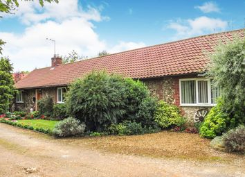 Thumbnail 3 bed detached bungalow for sale in West Park Farm Close, Ickburgh, Thetford