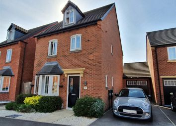 Thumbnail 4 bed detached house for sale in John Frear Drive, Syston, Leicester