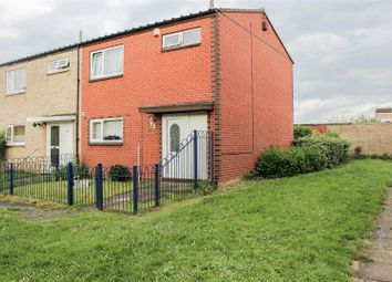 Thumbnail 3 bedroom end terrace house for sale in Branston Rise, Welland, Peterborough