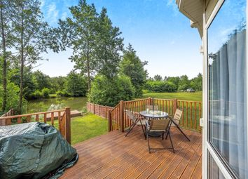 Thumbnail Mobile/park home for sale in Brick Kiln Road, Hevingham, Norwich