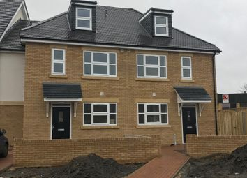 Thumbnail 4 bed semi-detached house to rent in Long Lane, Stanwell, Staines