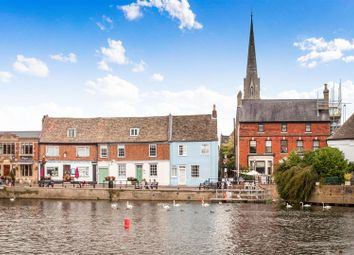 Thumbnail 4 bed terraced house for sale in The Quay, St. Ives, Huntingdon