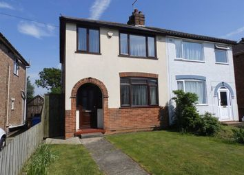 Thumbnail 3 bed semi-detached house for sale in Fairfield Road, Ipswich, Suffolk