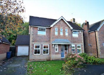 Thumbnail Detached house for sale in Poynton Close, Grappenhall, Warrington