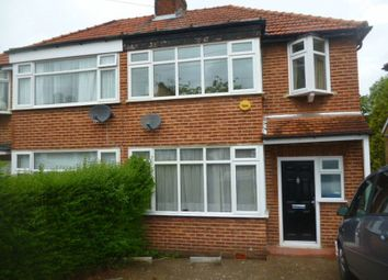 Thumbnail 3 bed semi-detached house to rent in Langley Crescent, Edgware