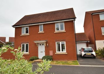 Thumbnail 3 bedroom detached house for sale in Gratton Park, Cranbrook, Exeter