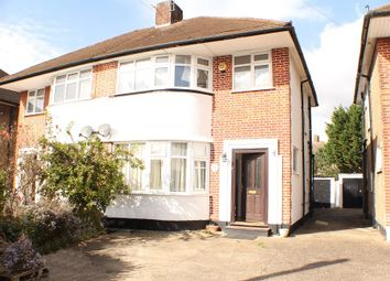 Thumbnail 3 bed semi-detached house to rent in Fercroft Avenue, Eastcote