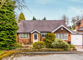 Thumbnail 2 bed bungalow for sale in Woodlands Road, Pownall Park, Wilmslow