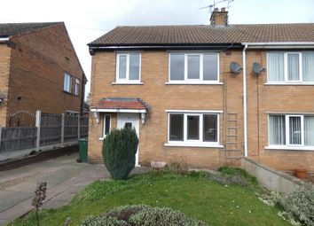 Thumbnail 3 bed semi-detached house for sale in Park Drive, Campsall, Doncaster