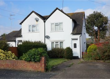 Thumbnail 2 bed semi-detached house for sale in Petersham Avenue, Byfleet