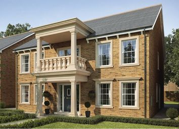 Thumbnail 5 bedroom detached house for sale in Plot 70, Mansion Gardens, Penllergaer, Swansea