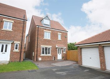 Thumbnail 5 bed detached house for sale in Capheaton Way, Seaton Delaval, Whitley Bay