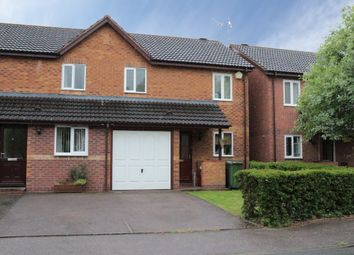 Thumbnail 3 bedroom semi-detached house to rent in Gundry Close, Leamington Spa