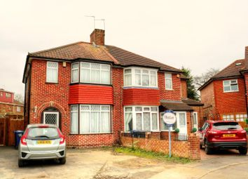 Thumbnail 3 bed semi-detached house to rent in Wellgarth, Greenford, Middlesex
