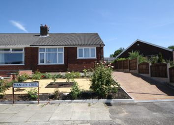 Thumbnail 2 bed semi-detached bungalow for sale in Manley Crescent, Westhoughton