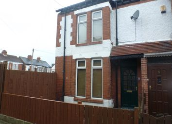 Thumbnail 2 bed end terrace house to rent in Cornwall Gardens, Hull