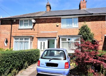 Thumbnail 3 bed terraced house for sale in Hornsey Road, Birmingham