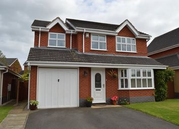 Thumbnail 4 bedroom detached house for sale in Priory Court, Market Drayton