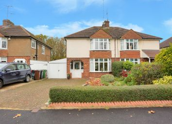 Thumbnail 3 bed semi-detached house for sale in Firbank Road, St. Albans, Hertfordshire