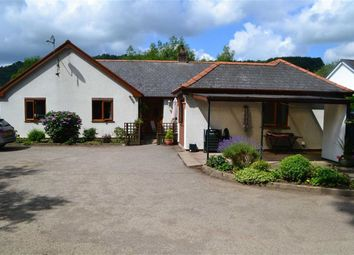 Thumbnail 4 bed detached bungalow for sale in Severn Oak, Llandinam, Powys