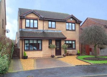 Thumbnail 4 bed detached house for sale in Gryfebank Avenue, Houston, Johnstone, Renfrewshire