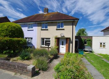 Thumbnail 2 bed semi-detached house for sale in Prince Charles Road, Lewes