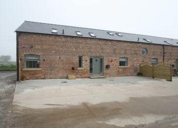 Thumbnail 3 bed barn conversion to rent in Hickhurst Lane, Rushton, Tarporley