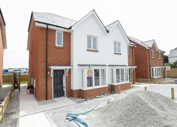 Thumbnail 3 bed semi-detached house for sale in Haine Road, Ramsgate