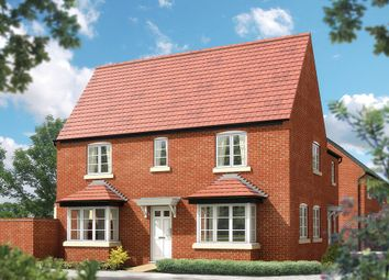 "Thumbnail 3 bedroom property for sale in ""The Sheringham"" at Whitelands Way, Bicester"