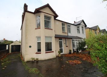Thumbnail 3 bed semi-detached house for sale in Heathwood Road, Heath, Cardiff