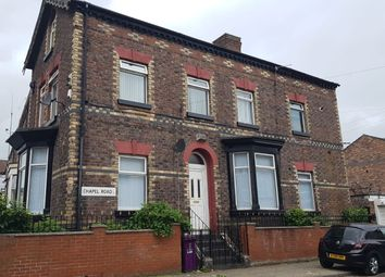 Thumbnail 1 bed flat to rent in Chapel Road, Anfield