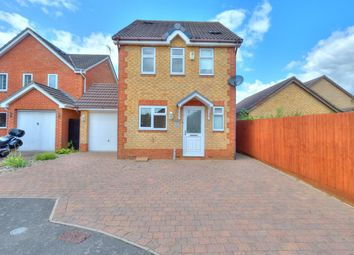 Thumbnail 3 bed detached house for sale in Bosworth Close, Northampton